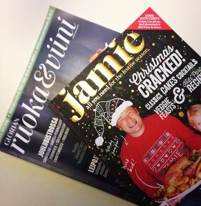 Jamie Magazine on kestosuoikki, mutta päätin antaa kotimaisellekin lehdelle mahdollisuuden.