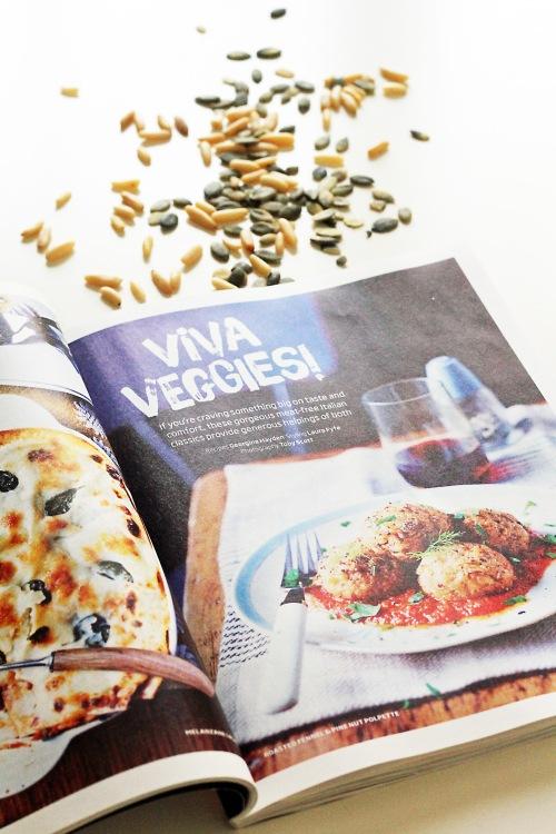 Jamie Magazinen Italia-numero on täynnä ohjeita, jotka houkuttelevat testaamaan.